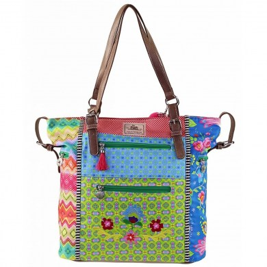 HAPPINESS Beuteltasche High Shopper Pajarito